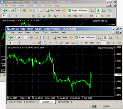 Meta Trader Account Copier helps to work with trading signals latest Screen Shot